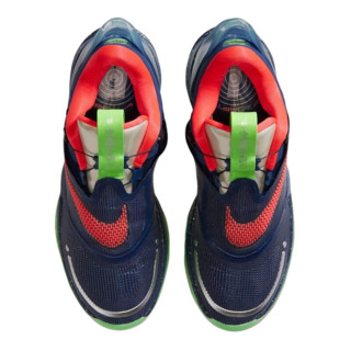 NIKE 耐克 Adapt BB 2.0 GC 男士篮球鞋 CV2442-401空间蓝/冲击绿/激光红 40