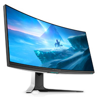 Alienware 外星人 AW3821DW 37.5英寸 显示器 3840×1600 144Hz HDR600 2300R IPS 白色