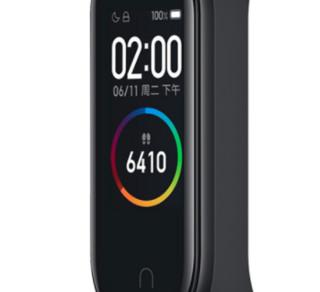 MI 小米 手环4 智能手环 黑色 NFC版