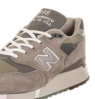 new balance M998wtp 男士跑鞋 M998D07 灰色/深灰色 41