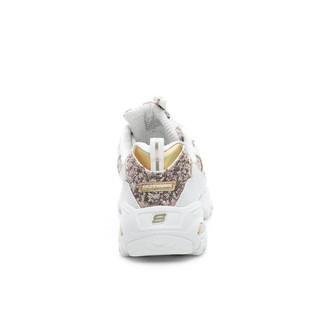SKECHERS 斯凯奇 D'Lites 女士休闲运动鞋 11916/WGD 白色/金色 35