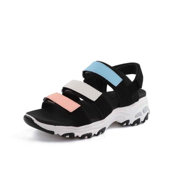 SKECHERS 斯凯奇 D'lites Sandal 女士凉鞋 66666108/MULT 多彩色 37