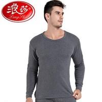 Langsha 浪莎 L88002 男士纯棉圆领保暖内衣套装