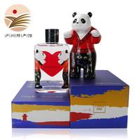 【泸州馆】泸州老窖 百调HeartPanda熊猫 国窖1573小酒52度125ml+熊猫玩偶 汉儿版