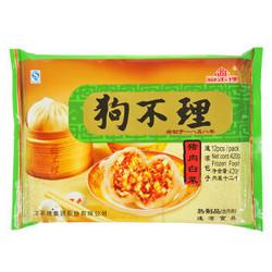 狗不理 手工猪肉白菜包 420g 12个 包子 速冻面点 早餐优选 *12件