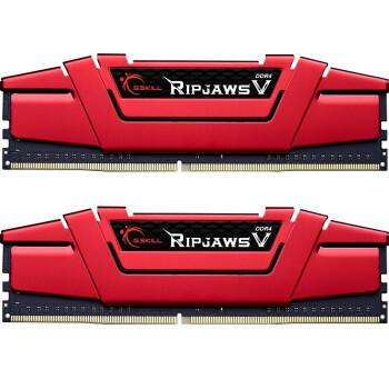 限地区:G.SKILL 芝奇 Ripjaws V DDR4 3200 台式机内存条 16GB(8G×2)套装