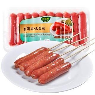 中粮家佳康 台湾风味香肠 250g *11件