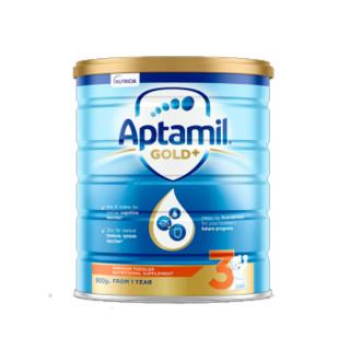 Aptamil 爱他美  金装婴幼儿配方奶粉 3段 900g(12-18个月)