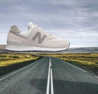 new balance 574系列 中性休闲运动鞋 WL574UJB 雨云色 36.5