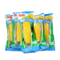 都乐Dole 非转基因 甜玉米棒 6根装 单根200g  *5件