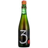 (特别限量)比利时原装进口3泉尊崇天赐版水果兰比克啤酒 3 Fonteinen  375ml*1瓶 单瓶装