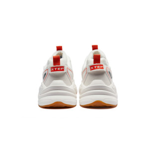 XTEP 特步 男士运动板鞋 881319329127 米色 39