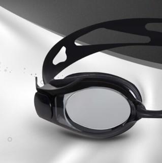 LI-NING 李宁 中性高度近视泳镜 LSJK508 黑色 450度