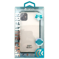 迪沃(DEVIA) 磨砂透明防摔保护套 适用于iPhone 11/11 Pro/11 Pro Max 绿边【iPhone 11】