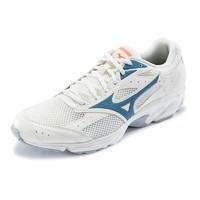 Mizuno 美津浓 Spark CN 男士跑鞋 D1GH202801 米白色/藏青色 39
