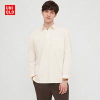 优衣库 男装 法兰绒套头衬衫(长袖) 438369 UNIQLO