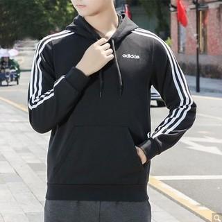 adidas 阿迪达斯 DU0498 男士运动卫衣黑S