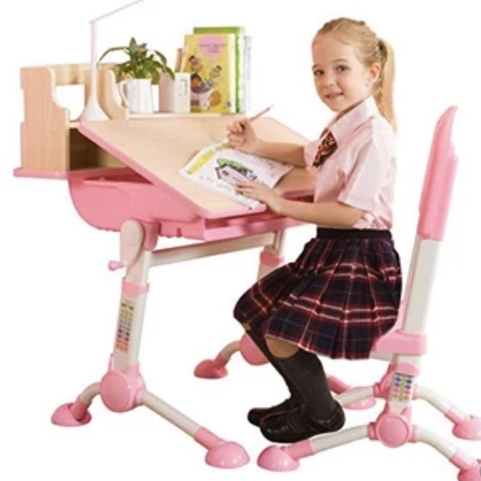 SINGAYE 心家宜 M_111L/R  可升降儿童学习桌椅套装 王子蓝