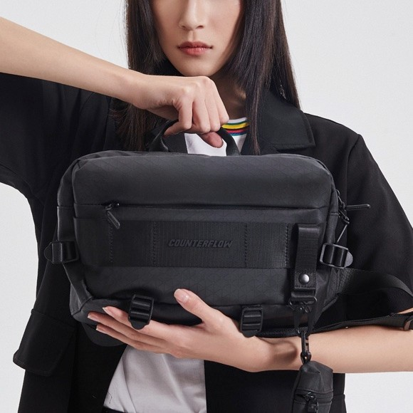 LI-NING 李宁 ABDQ416 溯系列秀款单肩包