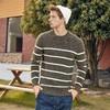 Semir 森马 14D078071414 男士撞色条纹毛衣