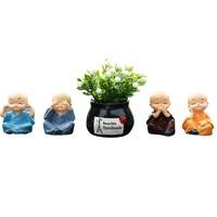 Rosekey 洛饰奇 4个不和尚+1个花瓶 送5个双面贴