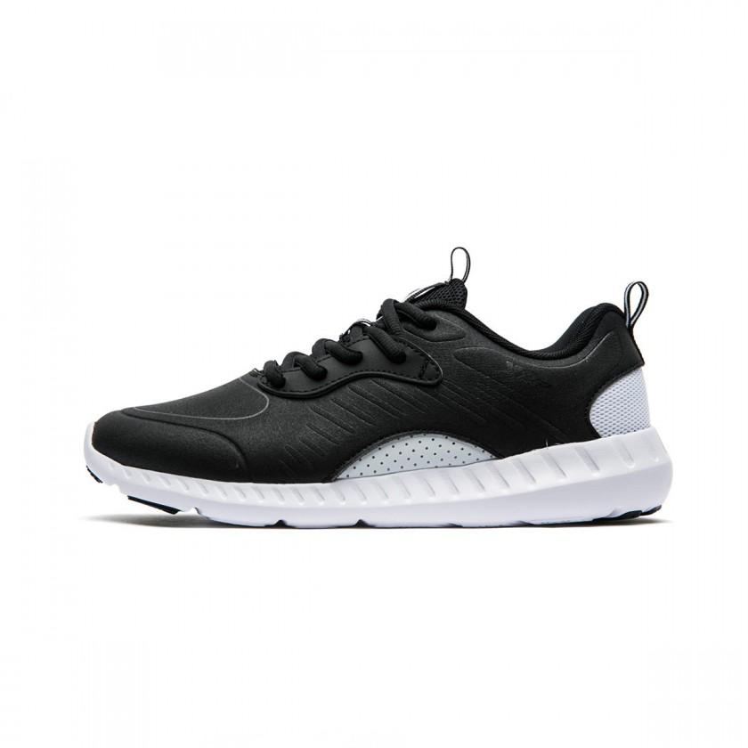 XTEP 特步 女士训练鞋 982318520683 黑白 37