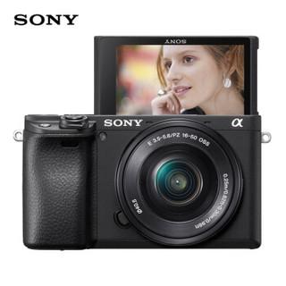 SONY 索尼 ILCE-6400L 微单相机(16-50mm F3.5-5.6)套机