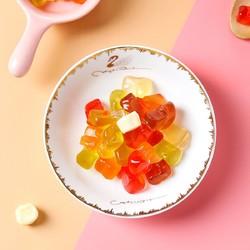 徐福记熊博士果Q弹果汁橡皮糖袋装综合果味软糖儿童零食婚礼喜糖