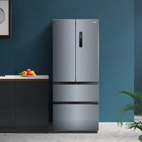 预售21日0点:Midea/美的BCD-369WFPZM(E)法式多门四开门风冷无霜变频家用冰箱