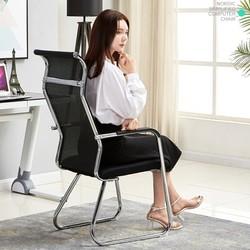 美家创展 人体工学椅 圆管-黑色