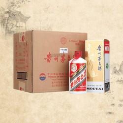 歌德老酒 贵州飞天茅台酒43度喜宴红500ml整箱6瓶酱香型白酒喜酒