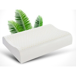 LADIAN 蓝典 泰国天然乳胶枕芯 60*40*8/10cm 一对装