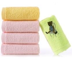 金号纯棉小毛巾儿童成人男女洗脸家用卡通柔软吸水不掉毛