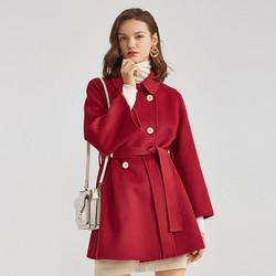 Eifini 伊芙丽 1A9970391-1 女士双面呢子羊毛大衣