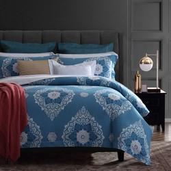 博洋家纺 40S贡缎印花全棉床上用品 四件套 1.8m床