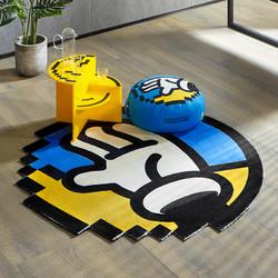 KUKa 顾家家居 INXX联名像素地毯