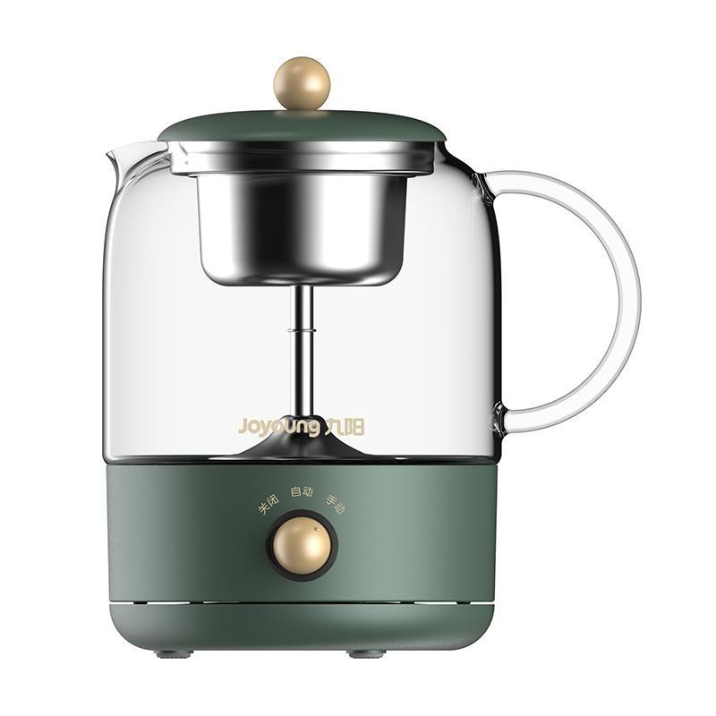 Joyoung 九阳 K08D-WY150 全自动蒸汽煮茶壶 复古绿 0.8L