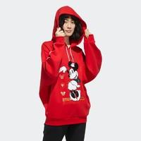 阿迪达斯官网neo Disney米老鼠联名款春秋女装运动套头卫衣GE7774