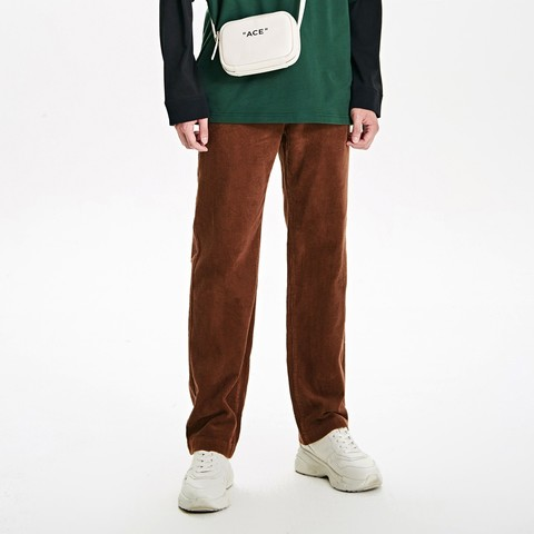 Trendiano 3GC306803P810 男士灯芯绒纯棉直筒裤