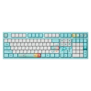 AKKO 爱酷 3108V2 莫奈之池 机械键盘 AKKO轴/佳达隆轴