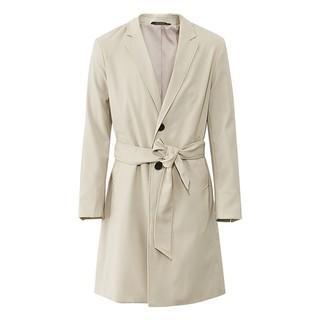 ME&CITY 530370 男士西装领风衣外套