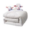FUANNA 富安娜 澳洲进口羊毛被 1.2kg 1.52*2.1m