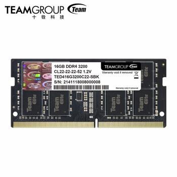 Team 十铨  DDR4 3200 16GB 笔记本内存条