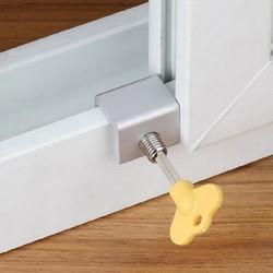 铝合金纱窗锁儿童安全防护锁