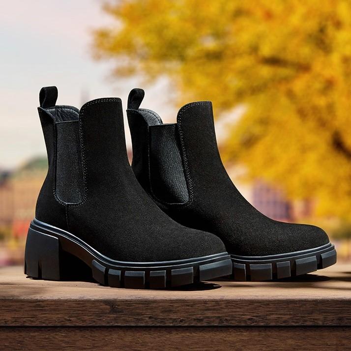 SKECHERS 斯凯奇 167050 女士切尔西短靴