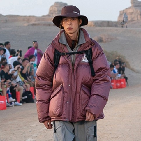 LI-NING 李宁 CF溯系列X敦煌博物馆 AYMQ566 男/女款羽绒服