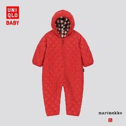 优衣库 婴儿/新生儿 轻型保暖WARM PADDED连体装 426499