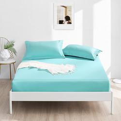 全棉床笠单件纯棉床罩套床垫保护罩防尘套全包防滑固定床上用品