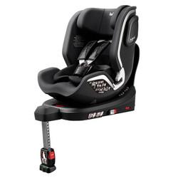 bebebus 安全座椅汽车用0-6岁婴儿宝宝车载儿童座椅isofix360度旋转 太空黑