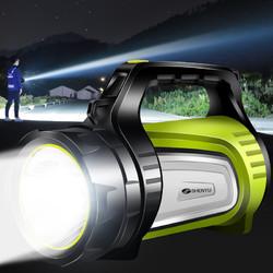 手电筒强光充电户外超亮远射手提灯探照氙气长续航疝气家用大容量